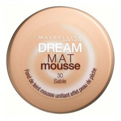 Dream Mat Mousse - 30 sable - Gemey Maybelline New York