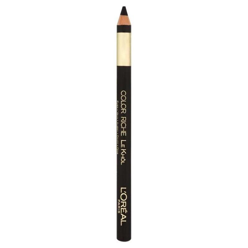 Crayon Color Riche LE KHÔL - 101 Noir - L'Oréal Paris