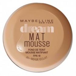 Dream Mat Mousse - 20 beige éclat - Gemey Maybelline
