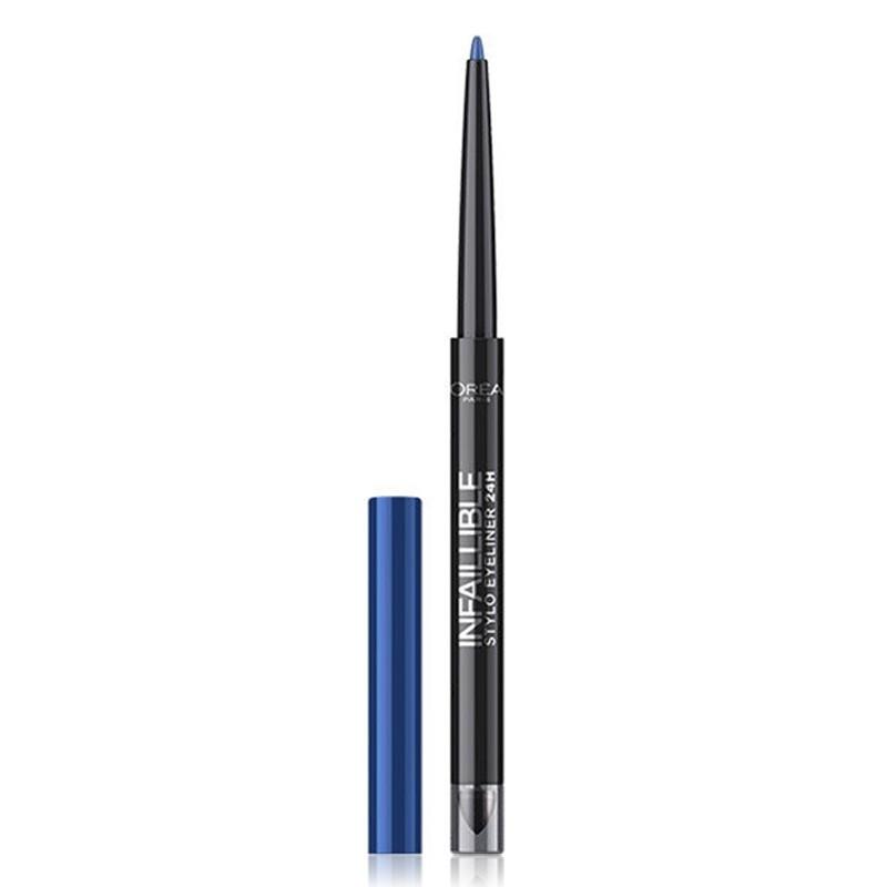 Stylo Eyeliner 24H Waterproof Infaillible - 314 Rebel Blue - L'Oréal Paris