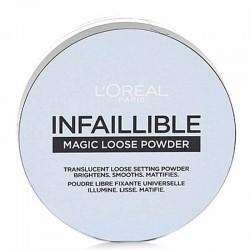 Poudre Libre Fixante Translucide INFAILLIBLE 24H - L'Oréal
