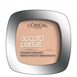 Poudre Compacte Accord Parfait - 2.R vanille Rosé - L'Oréal Paris