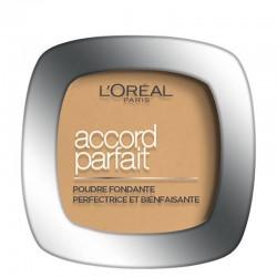 Poudre Accord Parfait - 3.D Beige Doré - L'Oréal Paris