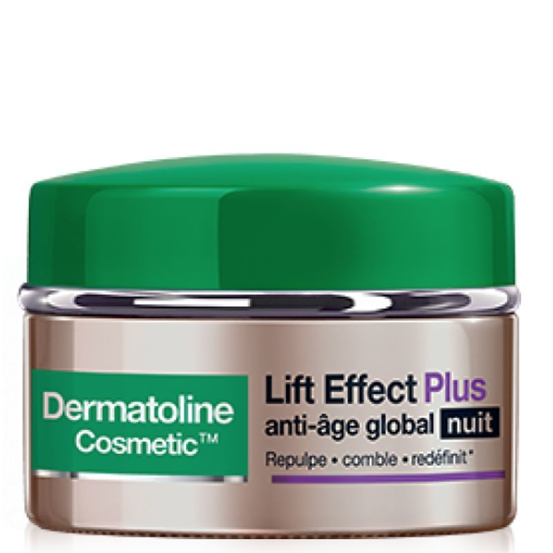 Crème Lift Effect Plus Anti-âge Global Nuit - Dermatoline Cosmetic