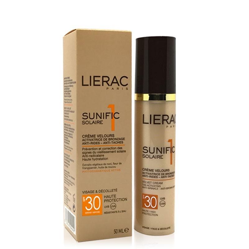 Crème velours Sunific Solaire 1 - Lierac