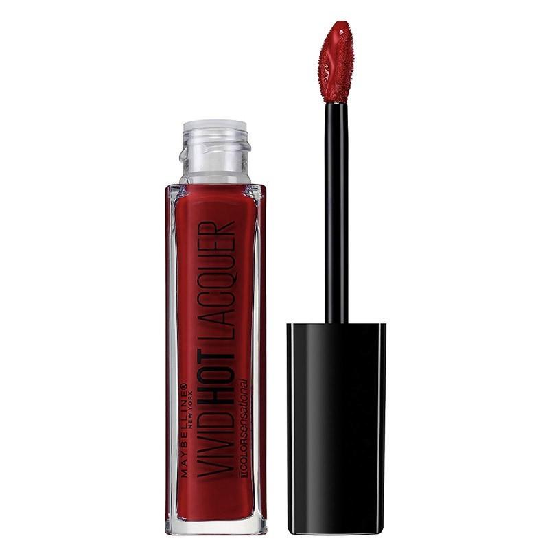 Rouge à Lèvres Vivid Hot Lacquer - 72 Classic - Gemey Maybelline