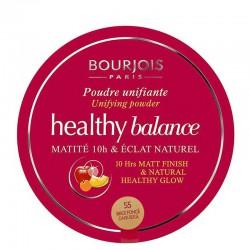 Healthy Balance Poudre Unifiante - 55 Beige Foncé - Bourjois