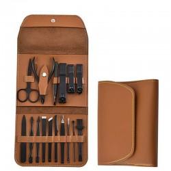 Kit Manucure Pedicure - Set de 16 Outils à Manucure Pédicure