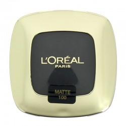 Ombre à paupières Mono Pure Color Riche - 100 Noir - L'Oréal Paris