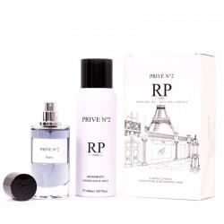 RP Parfums PRIVÉ N°2 - Coffret 2 pièces  - Eau de Parfum 50 ml & Déodorant 150ml