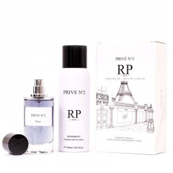 Coffret 2 pièces  - Eau de Parfum & Déodorant - RP Parfums PRIVÉ N°2 -