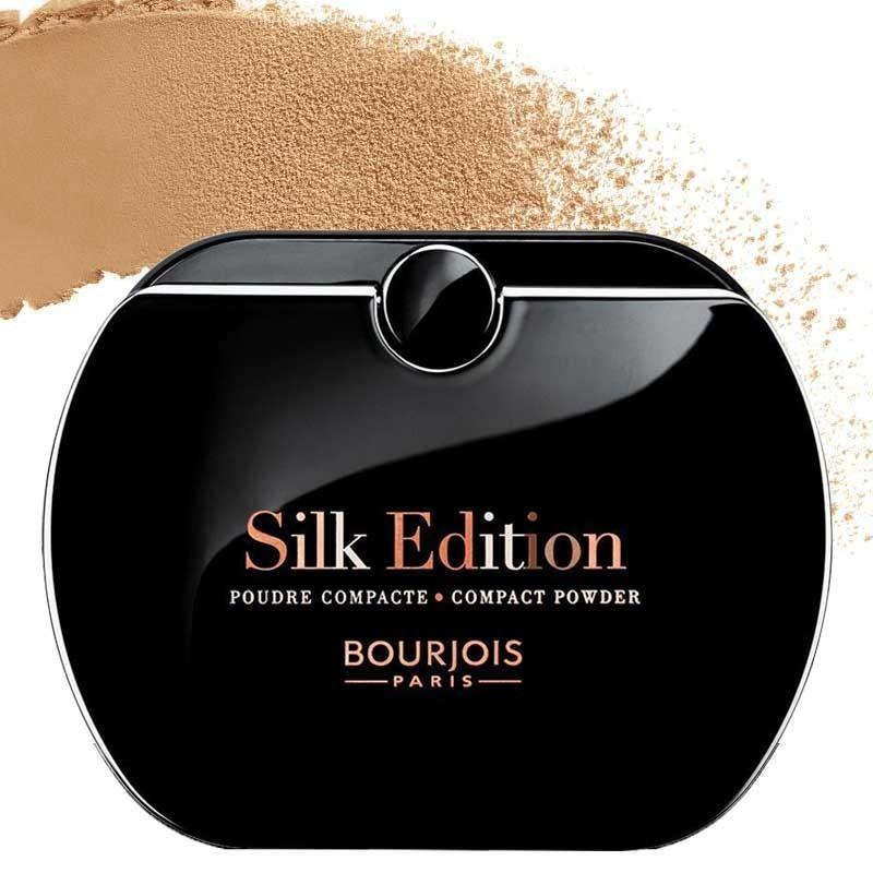 Poudre Compacte Silk Edition - 55 Miel Doré - Bourjois
