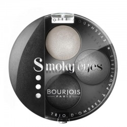 Smoky Eyes Trio - 01 Gris Dandy - Bourjois