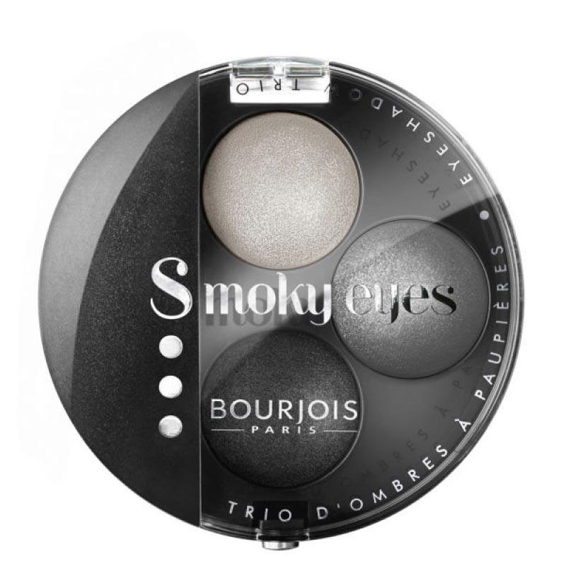 Smoky Eyes Trio - 01 Gris Dandy - Bourjois