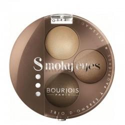 Smoky Eyes Trio - 04 Nude Ingénu - Bourjois