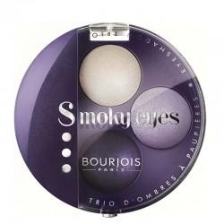 Smoky Eyes Trio d'ombres à paupières - 06 Violet Romantic  - Bourjois