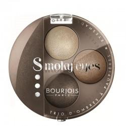 Smoky Eyes Trio - 09 Vert De Gris - Bourjois