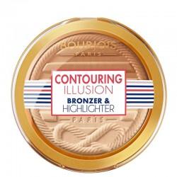 Contouring Illusion Bronzer & Highlighter - Bourjois Paris