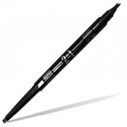 2 en 1- Crayon rétractable + Feutre effet Tattoo - D'Donna - Medium Brown