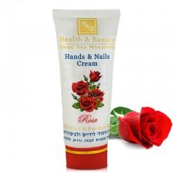 Crème de soin Multivitaminée Mains et Ongles à la Rose - Health &Beauty