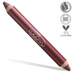 Crayon Duo à Lèvres - Logona Naturkosmetik - 03 Berry