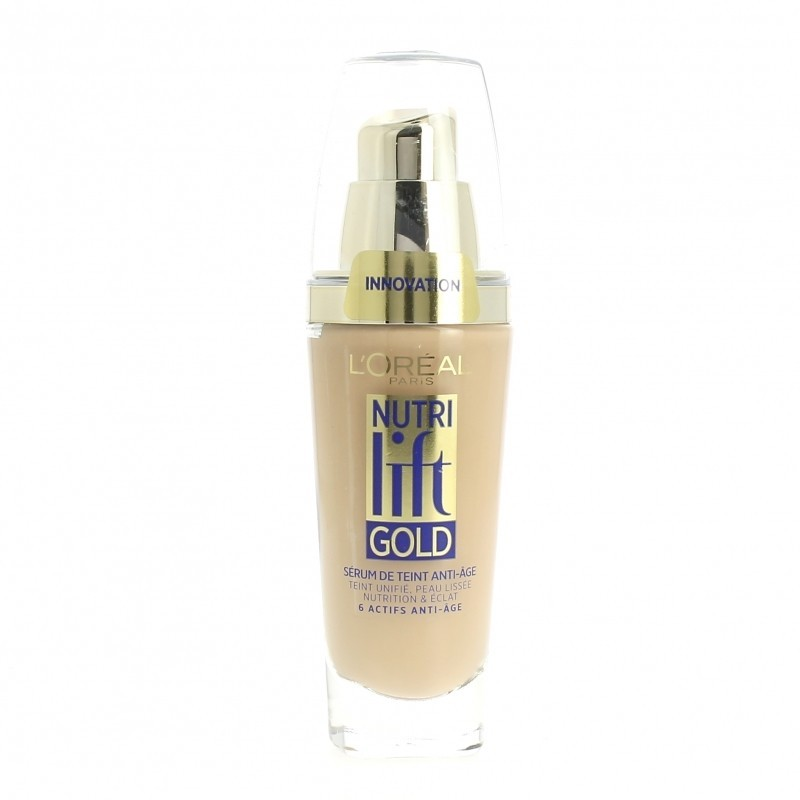 Fond de Teint Nutri Lift Gold - 250 Sable